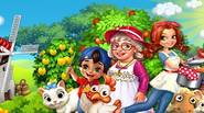 Enjoy the farmer life in this fantastic, peaceful game in which you can grow crops, raise animals such as horses, cows and sheep and build barns and other […]