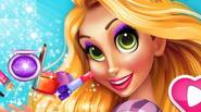 Rapunzel wants to have a beautiful make-up. Can you create the look of her dreams? Game Controls: Mouse