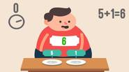 A simple, yet funny math game in which you have to find the two numbers on the sushi pieces that will add up to the sum, visible on […]