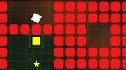 An interesting blend of puzzle games – you have to move the white rotate square towards the exit, and every move must end at the white square, otherwise […]