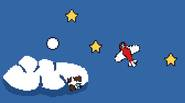That Plane Game is a game about… well, that plane, that must collect stars and avoid enemies trying to shoot it down. You have only one control that […]