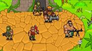 Deep inside the jungle, a team of mercenaries has a mission to fight with cruel guerilla soldiers. Click to kill opponents, upgrade your soldiers for better firepower and […]