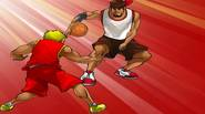 Show off your streetball skills and confuse your opponents, performing crazy streetball tricks. Just follow the onscreen instructions to repeat the combination of keys and perform the awesome […]