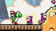This game is a legend… let's get back in time when Mario was a baby and Yoshi siblings were taking care of him. Explore the magic land on […]