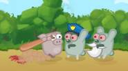 Are you ready for the epic battle between the freedom-fighting pigs and evil, mutated rabbits? Just hit, slash or shoot these nasty attackers and try to stay alive […]