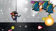 A fast-paced bullet storm game in which you have to face waves of alien enemies and blast'em off with your superweapons. Collect energy pills and power-ups to cause […]