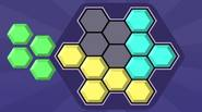 Move the clusters of hexagons to fill the entire area on the screen. Once you start, it's really hard to stop playing this game! Game Controls: Mouse