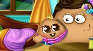 Pou has just become a father and he's a lot of work to do! Take care of your baby: calm him down when he's crying, give him toys […]