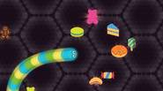 An awesome IO-type game in which you're controlling the small worm, who eats sweets and… other worms! The more you eat, the longer the worm gets – and, […]