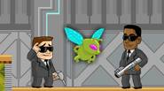 An excellent platform game for two players. As two secret-service agents you have to catch dangerous aliens, using stun guns and electromagnetic traps. One agent has to aim […]