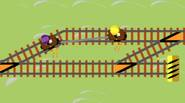 A crazy railroad-themed game in which you have to operate switches to let the two friends drive carefull through the maze of railroads. You can play solo or […]