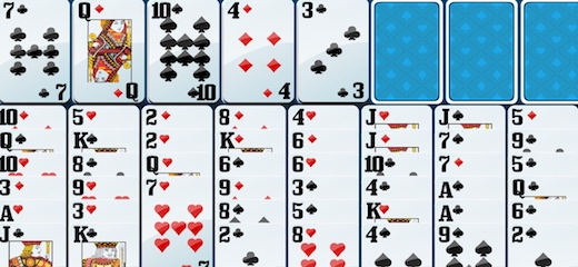 how to play freecell eight off