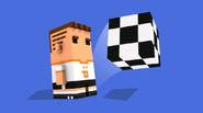 Important: the game can take up to 1 minute to load – please be patient! A fascinating, Minecraft-inspired soccer game. Get past opponent's defence lines, precisely passing the […]