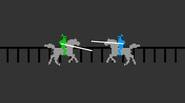 A super-challenging game that requires precise timing and good reflexes. Click or press the button at the right moment to lower the spare and attack the other knight […]