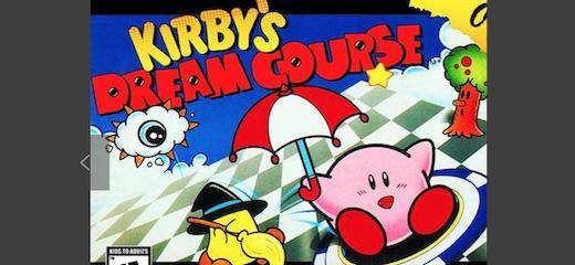 kirbys dream course snes