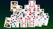 A classic Solitaire game in which you have to clear the pyramid of cards by combining pairs of cards that add up to 13. Aces count as 1, […]
