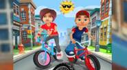 A fantastic BMX ride for all fans of 3D games! Choose your character: boy or girl and dodge obstacles, perform crazy tricks, collect golden coins and get as […]