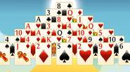 A challenging variation on the classic Pyramid Solitaire. Your goal is to combine 2 cards that in total have 13 in value and try to remove all cards […]