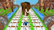 An intriguing, Minecraft-inspired endless running game in which you have to escape from the zombie miners, dodge enemies, collect gold and gems and jump over or slide under […]