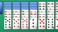 Yet another fine solitaire game for all people who love card games and puzzles. Read the rules below and have fun! • Form 4 columns of suit sequence […]