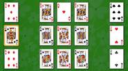 An intriguing solitaire game in which Sultan has to find all his 8 queens and surround himself with them. Remember: the cards in the foundation piles must be […]