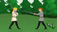 An excellent medieval fencing simulator, based on the real fencing textbooks from Dark Ages. Choose your warrior and play solo or against your friend. Cut, slash and hack […]