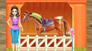 If you ever wanted to have your own pony or horse, this is the game for you! You have to take care of your horse – comb it, […]