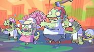 Zombies are hungry. Zombies are back! Defend yourself against these nasty, smelly creatures by throwing various kinds of foods in their direction. The better mayhem and combos you […]