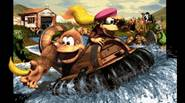 "The third part of Donkey Kong Country has even more challenges and fun for you! As the game sub-title says: ""Dixie Kong's Double Trouble"", you will have to […]"