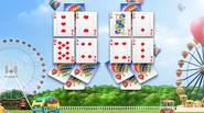 A nice solitaire game featuring 20 different levels. You have to clear the cards by matching pairs of cards with the same value. If you cannot find a […]