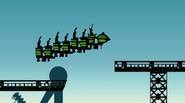 A crazy ride with a rollercoaster! Jump over pits, collect bonuses and save your passenger's lives by not derailing your train. Good luck! Game Controls: SPACE – Jump