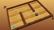 A simple skill game in which you have to tilt the wooden toy maze in order to get the marble inside the teleport hole. Once simple, it gets […]