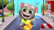 Talking Tom is back, in the fantastic run'n jump game in which you have to run along the city's main street and collect golden bars and coins. Jump […]