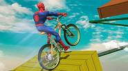A really, really, really bizarre game in which you can play as the most popular superheroes, riding the BMX across the twisty path, going somewhere through the endless […]