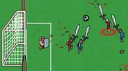 A truly barbaric, medieval version of soccer / football game in which you have to get the ball into opponent's goal, using swords and spiked balls on chains. […]