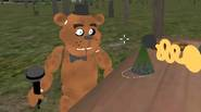 The Slenderman and Freddy the Fazbear hate each other. They are envious of their fame and want to be the only bad guy in town. Take control of […]