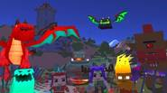 What happens if you move Minecraft characters back to medieval times and let them fight against the forces of darkness? Well, that's what happens in BLOCKY FANTASY BATTLE […]