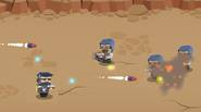 A crazy, fast-paced shooting game in which you have to eliminate hordes of road bandits with your cutting-edge lasers and other cyber-enhanced weapons. Dodge enemy bullets, drones and […]