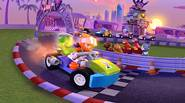 A fantastic racing game for all LEGO Friends fans! Choose your favorite LEGO Friends star and try to get to the finish line without crashing your car. Avoid […]