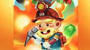 A totally crazy, fast paced game in which you have to dig down the screen, blowing up rocks, collecting gems and gold and other nice things and trying […]