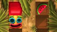 A funny puzzle game in which you have to get your character to the tasty, juicy watermelon through the complicated maze. You can't stop once you move, until […]