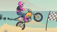 A totally crazy game in which you have to perform a wheelie on the motocross bike. Push the accelerator to do the wheelie and keep your motorbike as […]