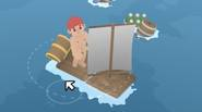 A funny game in which you're playing as the sea catastrophe survivor, who has to rescue himself… by building the raft from floating trash! Swim in the ocean, […]