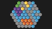 Place various pieces on the board to create full lines of hexagons. The lines will disappear and make some room for other pieces, in the TETRIS-like fashion. This […]