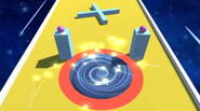 A super challenging 3D arcade game in which you control the black hole that needs to suck in all obstacles, in order to get your atomic ball going […]
