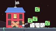 Square Zombies are attacking your house! Shoot down enemies and build a pile from their bodies, then try to get to the roof of your house and reach […]