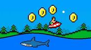 A funny oldschool-styled game in which you have to control a small boat and use waves to jump and collect golden coins. Avoid obstacles and hungry sharks (you […]
