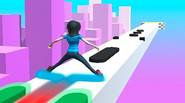 This is a really challenging 3D roller skating simulation. Just try to avoid oncoming obstacles by properly setting your feet. Keep them together or set them apart by […]