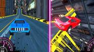 An insanely exciting 2 player 3D racing game in which you have to win the race around the futuristic cyberpunk city and beat your opponent, pushing pedal to […]