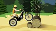 A really great motocross game. You have to carefully, yet quickly race through the obstacle-ridden track. Try not to crash the bike and don't hurt yourself. Balance you […]